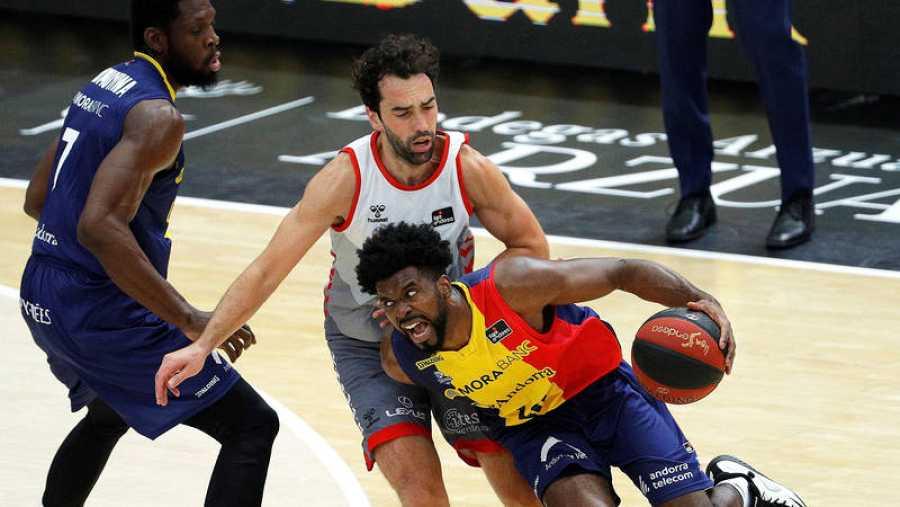 San Pablo Brugos y Mora Banc Andorra disputan el tercer partido de la cuarta jornada del Grupo B.