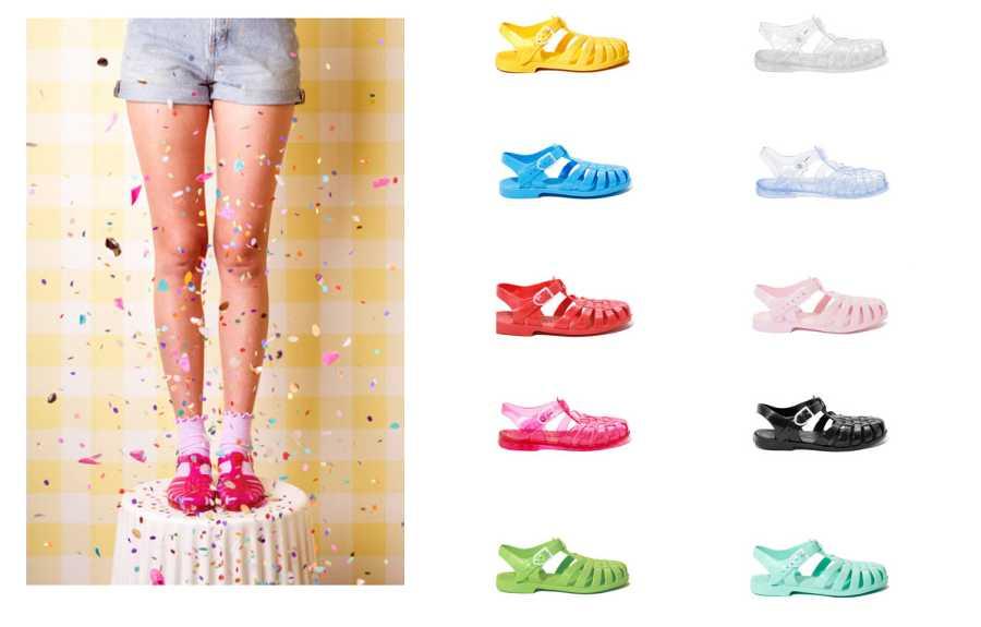 La firma británica Sun Jellies opta por idealizar los veranos pasados y ofrece el original de goma, popularizado en los años 80 y 90