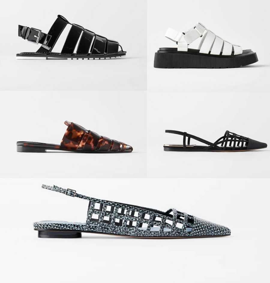 Zara se inspira en la cangrejera para su nueva colección de sandalias