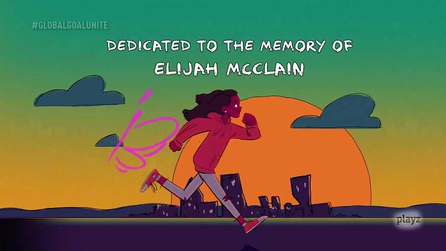 Homenaje de Coldplay a Elijah McClain