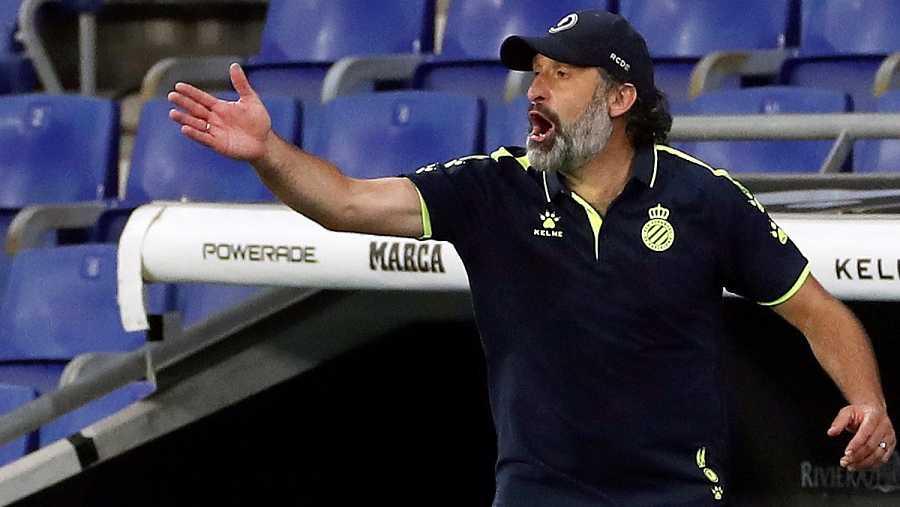 Imagen: Primer partido de Rufete como entrenador del Espanyol