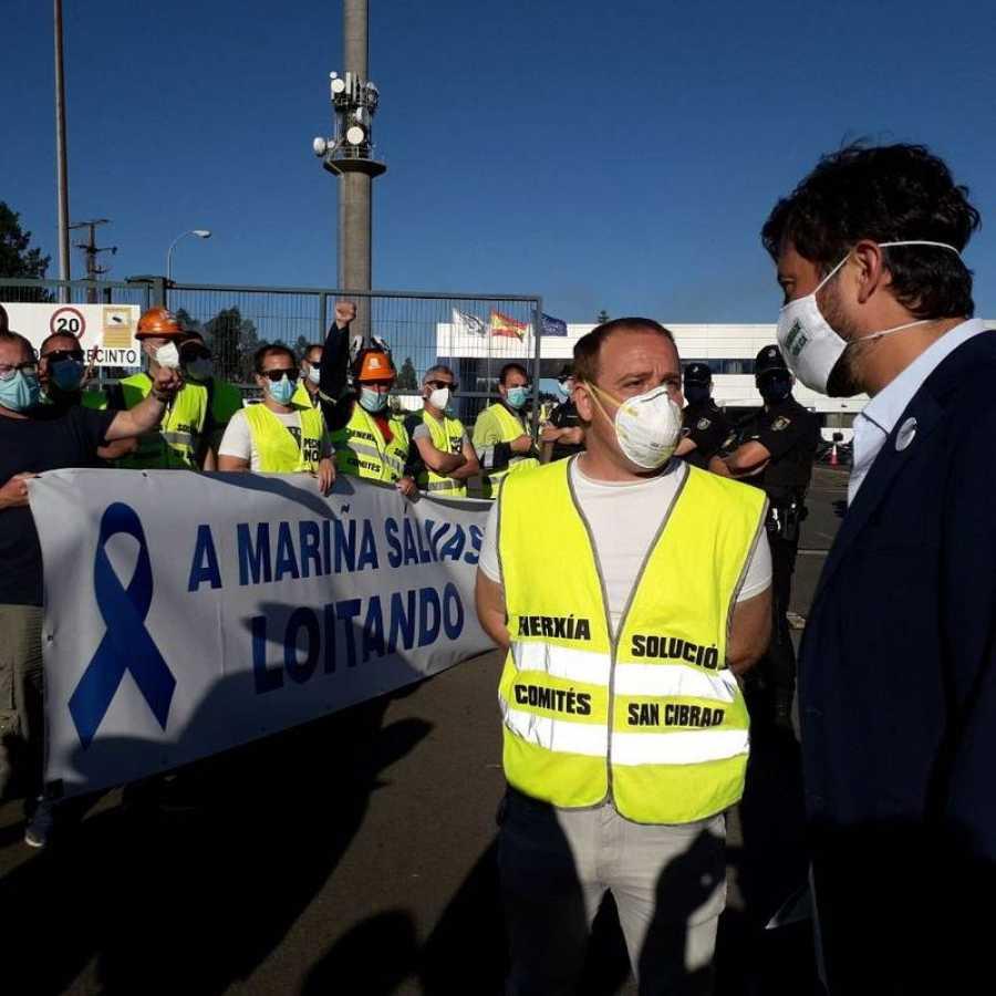 Elecciones gallegas 2020: El futuro de la fábrica de Alcoa, dentro y fuera del debate de las elecciones gallegas