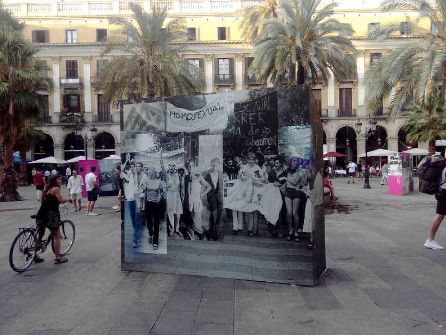 Cartel de la primera manifestación por los derechos de los homosexuales en 1977