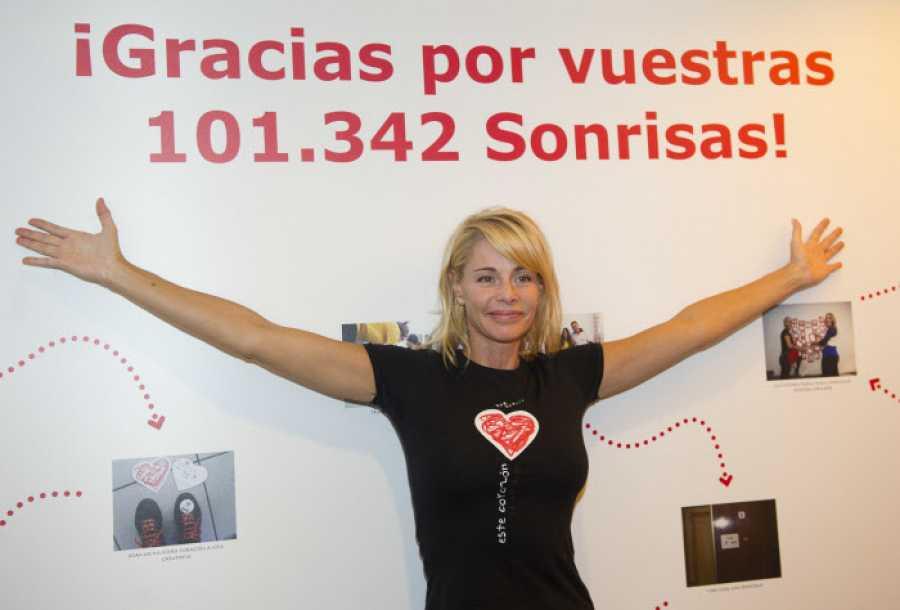 Belén Rueda colabora con la asociación