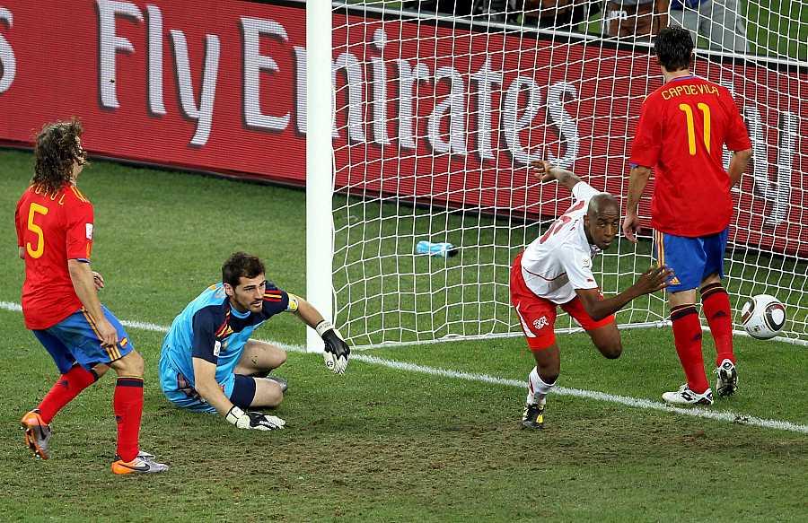 España 0 - 1 Suiza