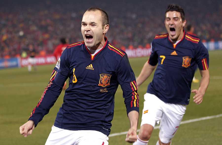 España 2 - 1 Chile