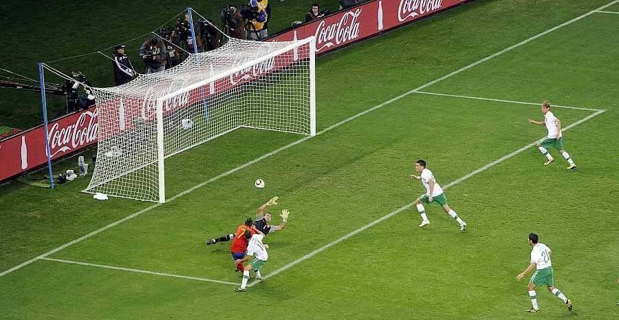 Octavos de final: España 1 - Portugal