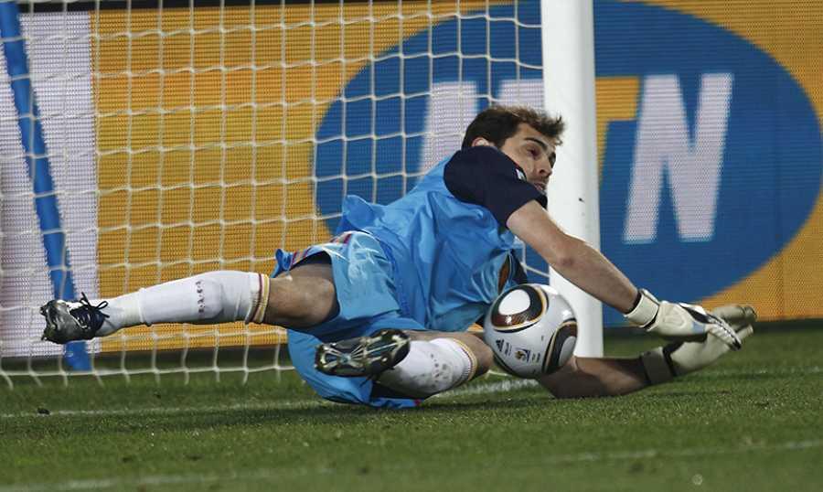 Cuartos de final: España 1 - 0 Paraguay