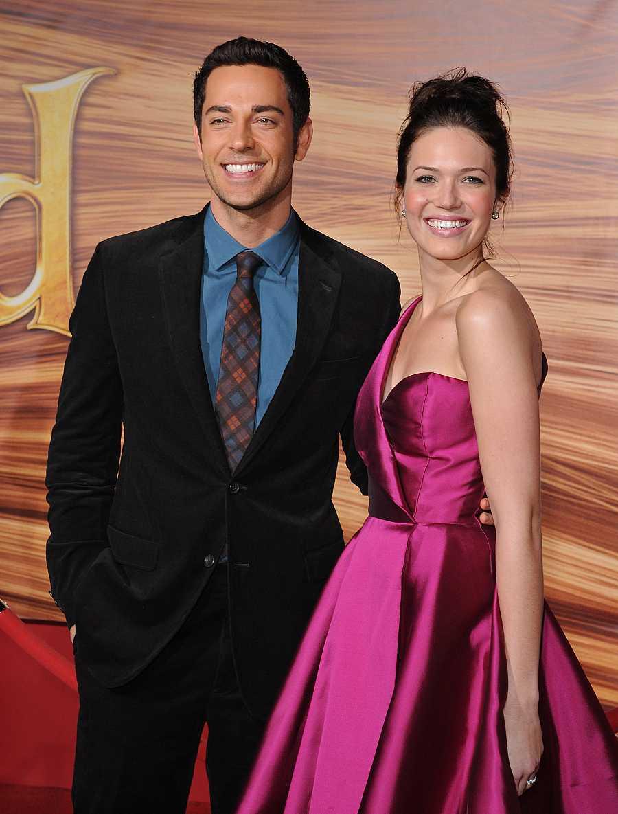 Zachary Levy y Mandy Moore ponen voz a los protagonistas de 'Enredados', la película de animación de Disney (2010)