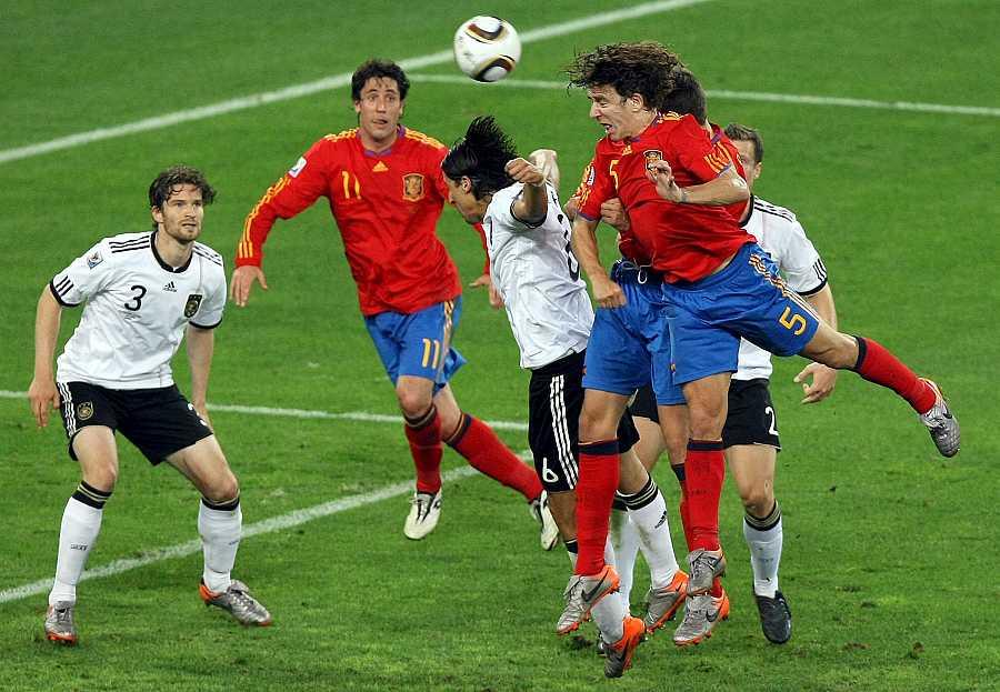 Semifinales: España 1 - 0 Alemania