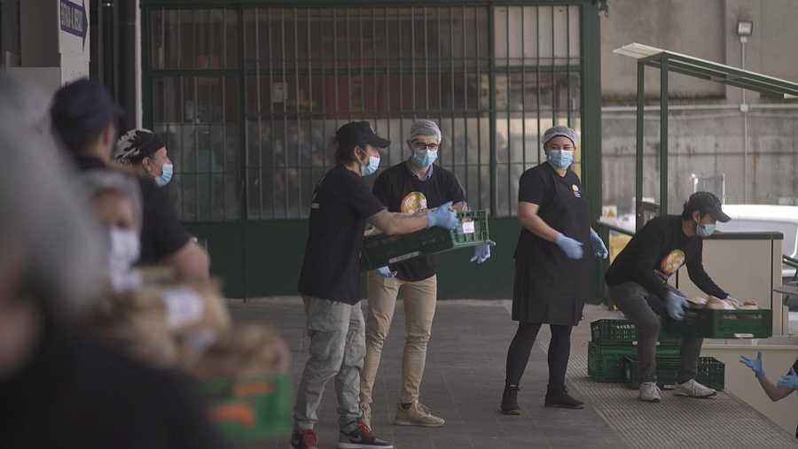 Las cocinas de José Andres, frente a la pandemia