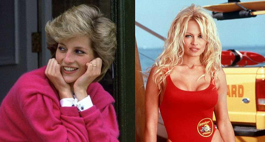 Lady Di y Pamela Anderson comparten cumpleaños: el 1 de julio