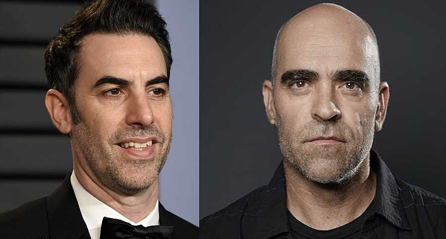 Luis Tosar y Sacha Baron Cohen comparten cumpleaños: el 13 de octubre