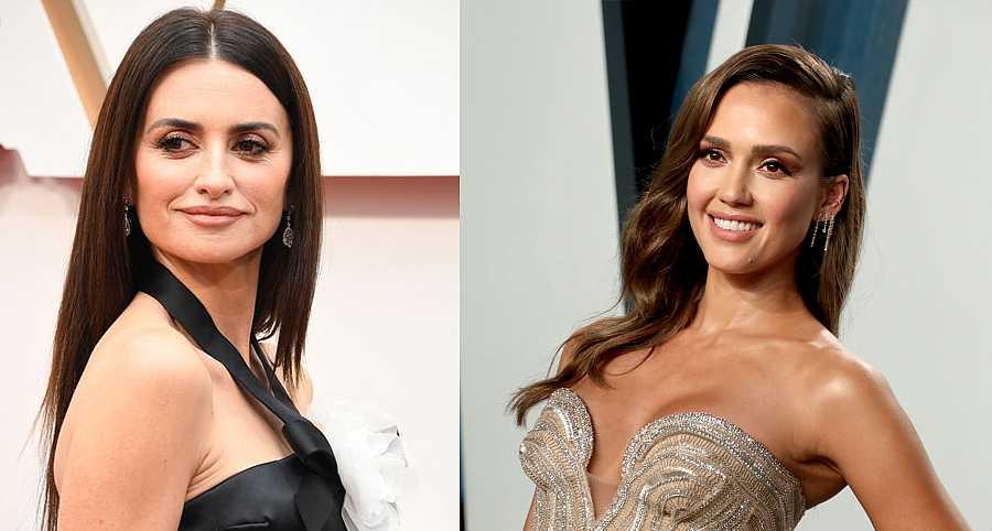 Jessica Alba y Penélope Cruz cumplen años el mismo día: el 28 de abril
