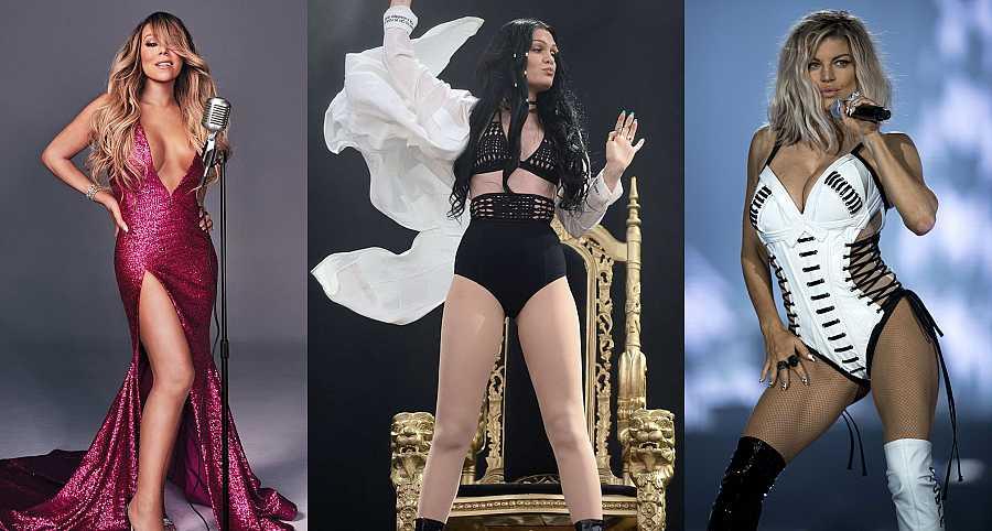 Mariah Carey, Jessie J y Fergie cumplen años el mismo día: el 27 de marzo