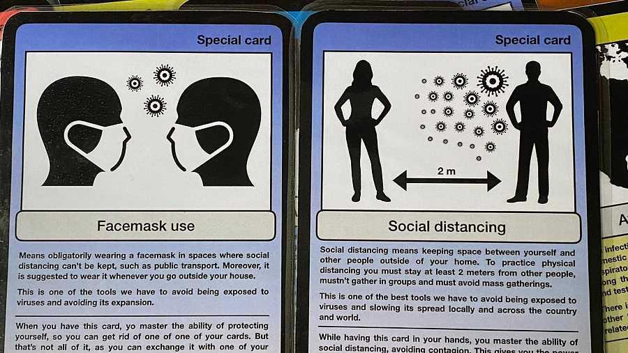Estudiantes de la Universidad del País Vasco crean un juego para entender los coronavirus