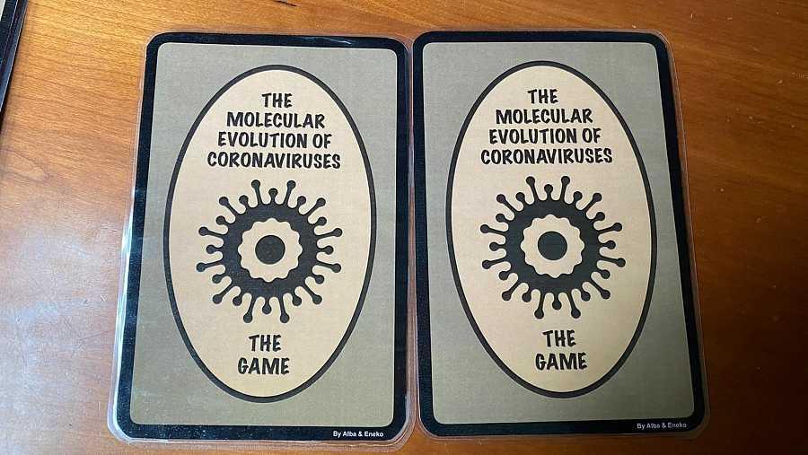 Un juego de naipes para entender los coronavirus