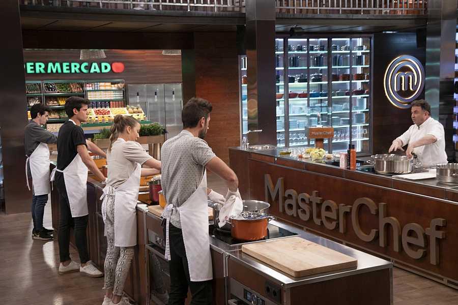 Los aspirantes cocinarán un plato al ritmo que marque Martín Berasategui