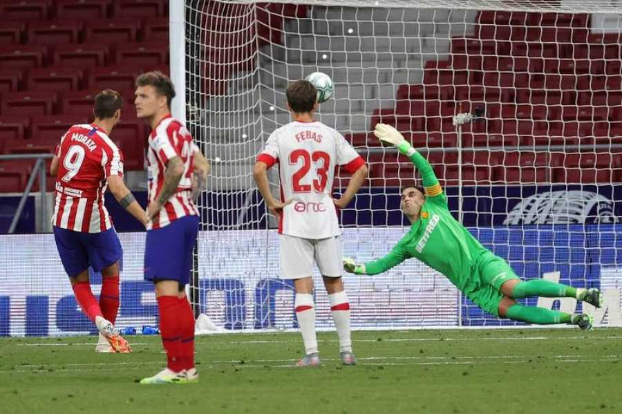 Imagen: Así ejecutó Morata la repetición del penalti
