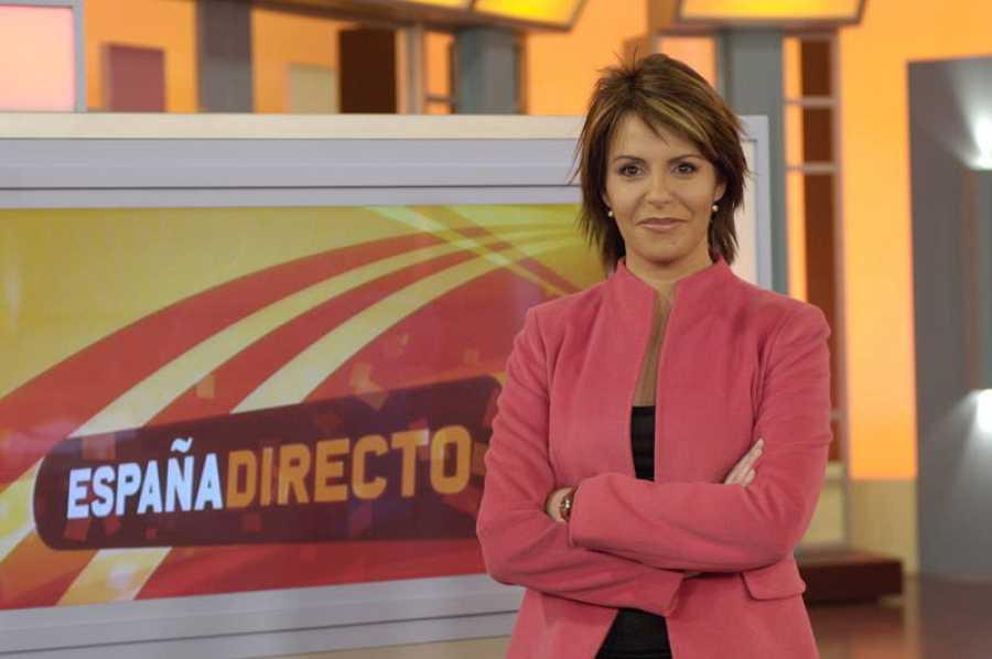 Pilar García Muñiz fue la primera presentadora de 'España Directo'