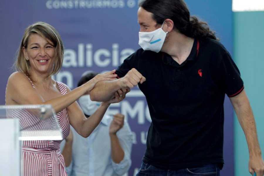 Elecciones gallegas 2020: Pablo Iglesias participa por primera vez en la campaña gallega