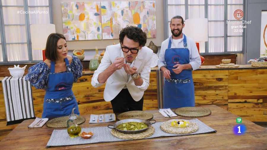 Juan Avellaneda ha sido el encargado de probar los platos del primer programa