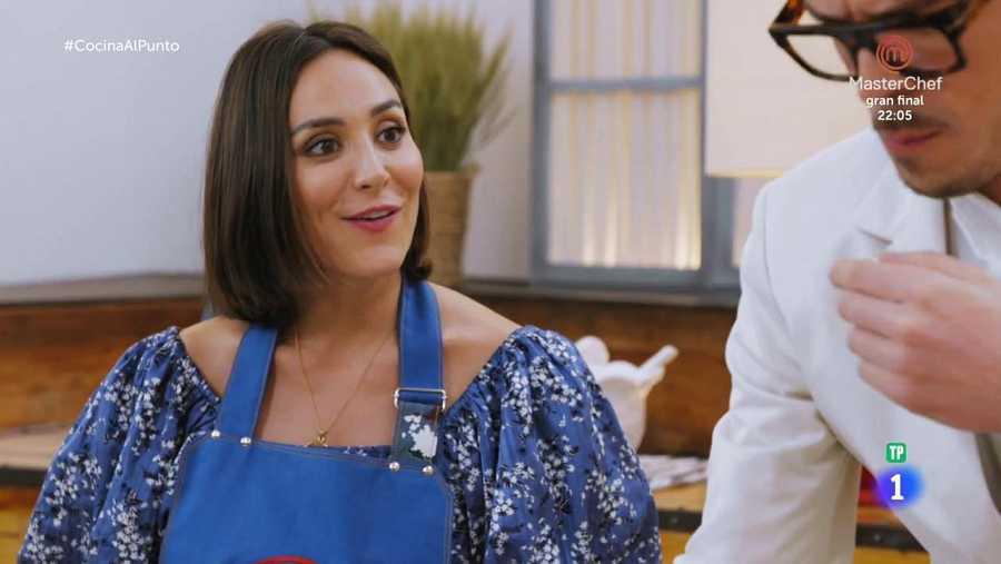 Mucha química entre Tamara y Peña: la presentadora aporta un toque de humor