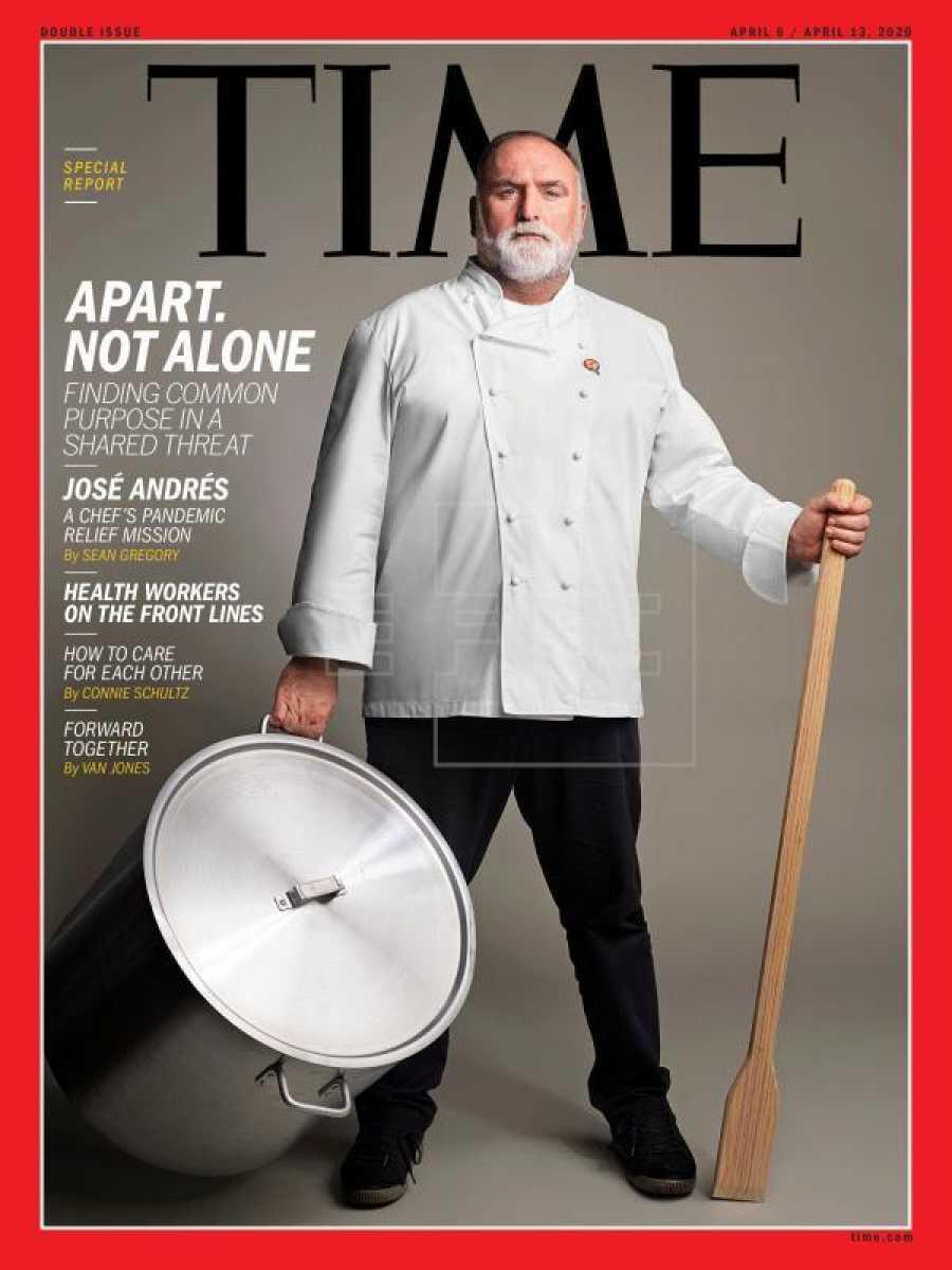 José Andrés, portada de la revista Time