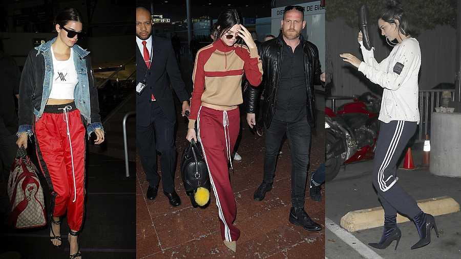 Kendall Jenner, la otra abogada de este 'look' inusual