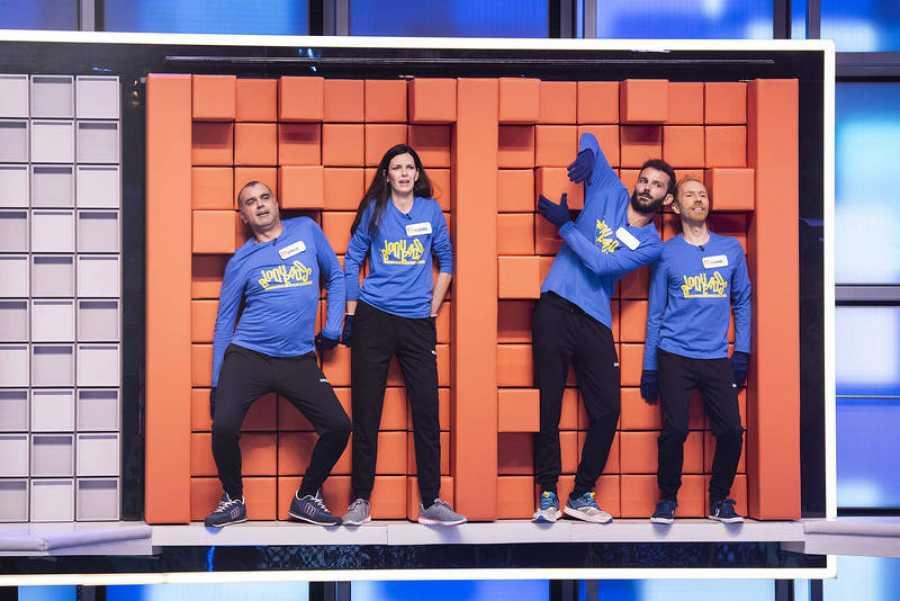 Equilibrio, conocimientos y un poco de suerte, cualidades de los concursantes de 'Bloqueados por el muro'