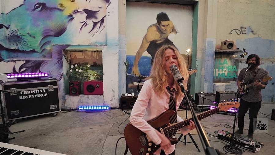 Christina Rosenvinge, una de nuestras cantautoras eléctricas más sobresalientes