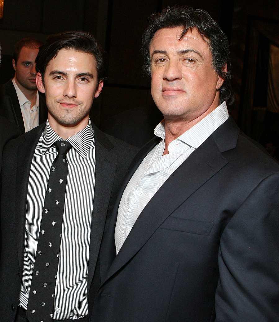 Milo Ventimiglia interpreta en la ficción al hijo de Sylvester Stallone