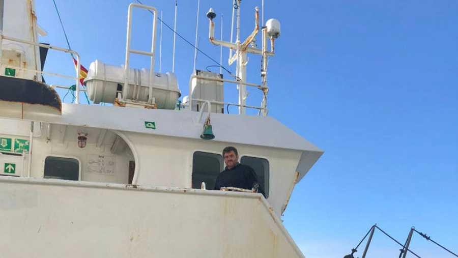 Barco pesquero en Galicia