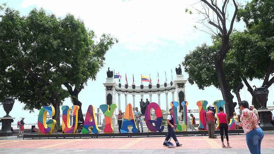 Guayaquil, ciudad portuaria