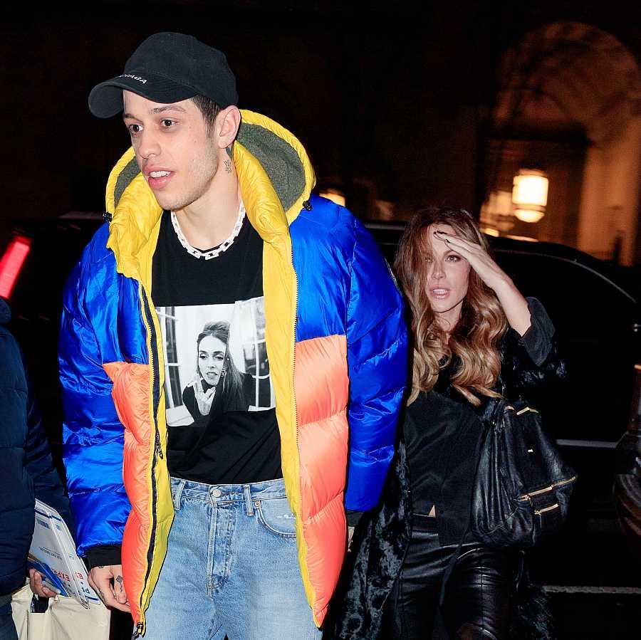 Kate Beckinsale mantuvo una relación informal con el comediante Pete Davidson, exnovio de Ariana Grande