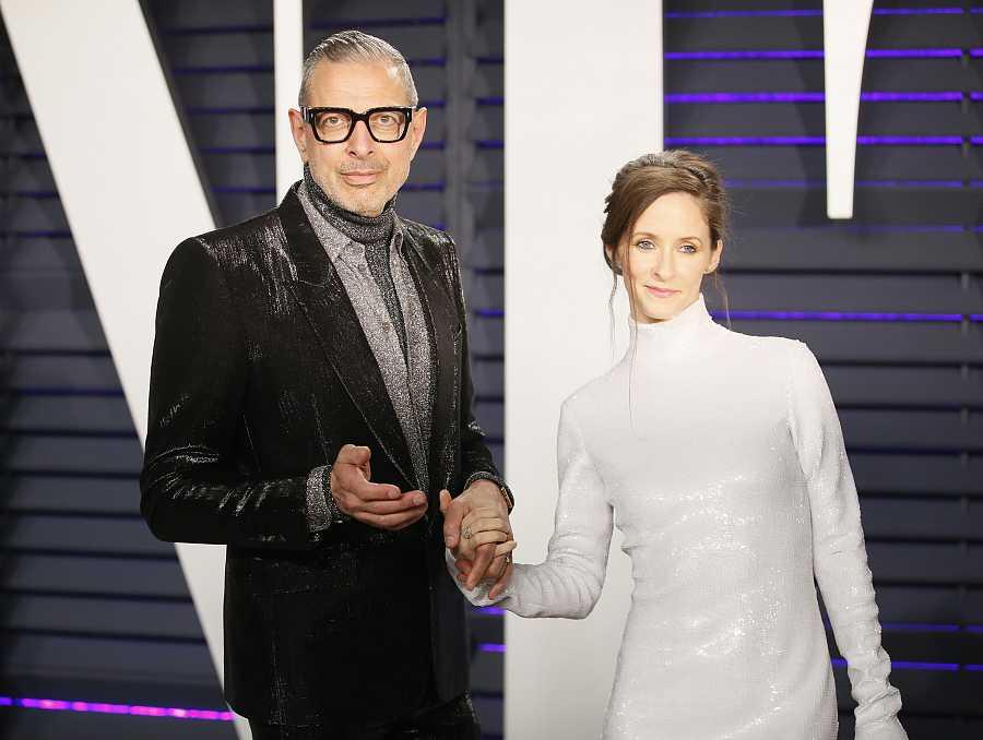 El actor Jeff Goldblum y su mujer, Emilie Livingston, 31 años menor que él