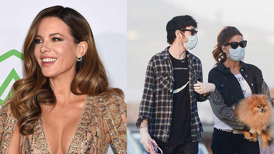Kate Beckinsale y su nuevo novio, el artista Goody Grace
