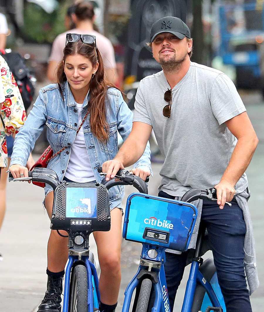 Leonardo DiCaprio y su última novia, Camila Morrone, de 23 años