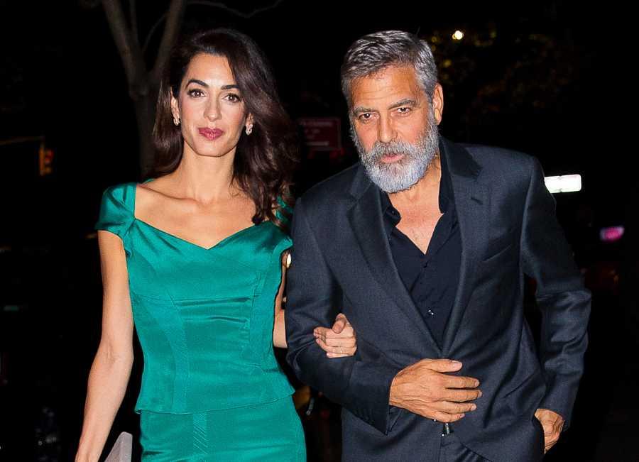 George Clooney y su mujer, la abogada de derechos humanos Amal Alamuddin