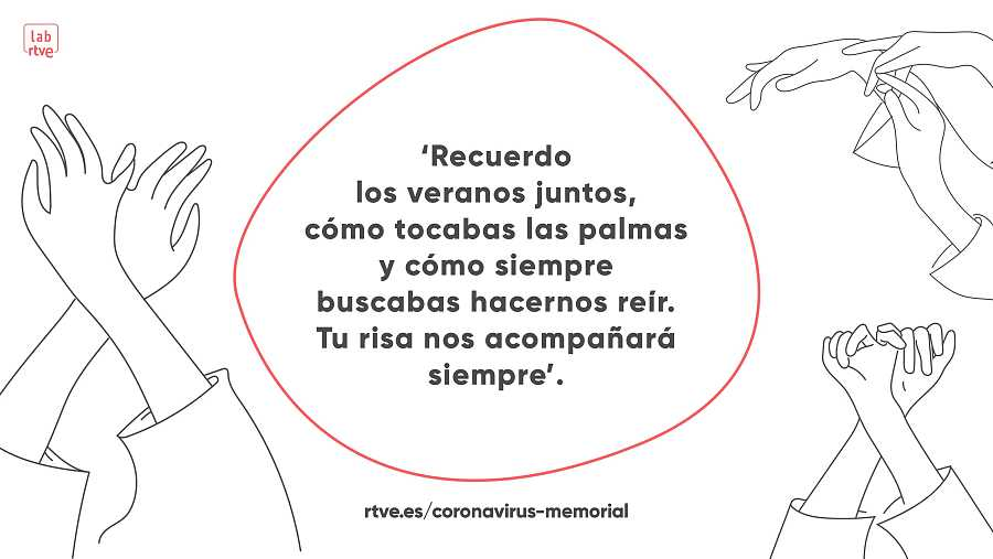 Proyecto interactivo 'Memorial coronavirus', del Lab de RTVE.es