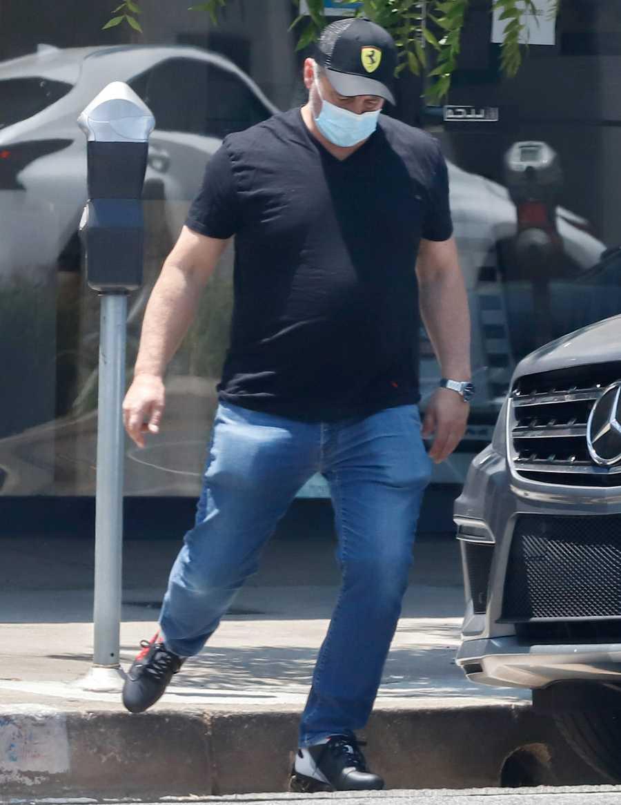 Matt LeBlanc en Los Ángeles