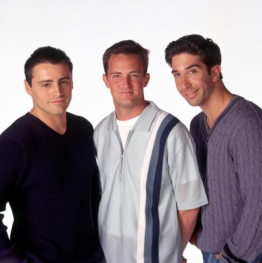 Los chicos de Friends: Matt LeBlanc, Matthew Perry y David Schwimmer