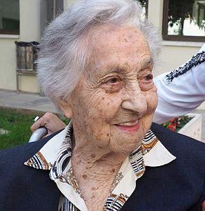 Maria Branyas, la persona más longeva de España.