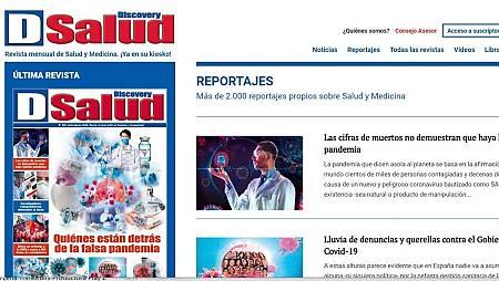 Detalle de la edición digital de la revista correspondiente a julio y agosto