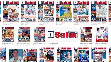 Captura de la hemeroteca digital de la revista con varias de sus portadas.