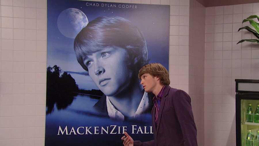 Chad Dylan Cooper, una parodia de Chad Michael Murray en Disney Channel