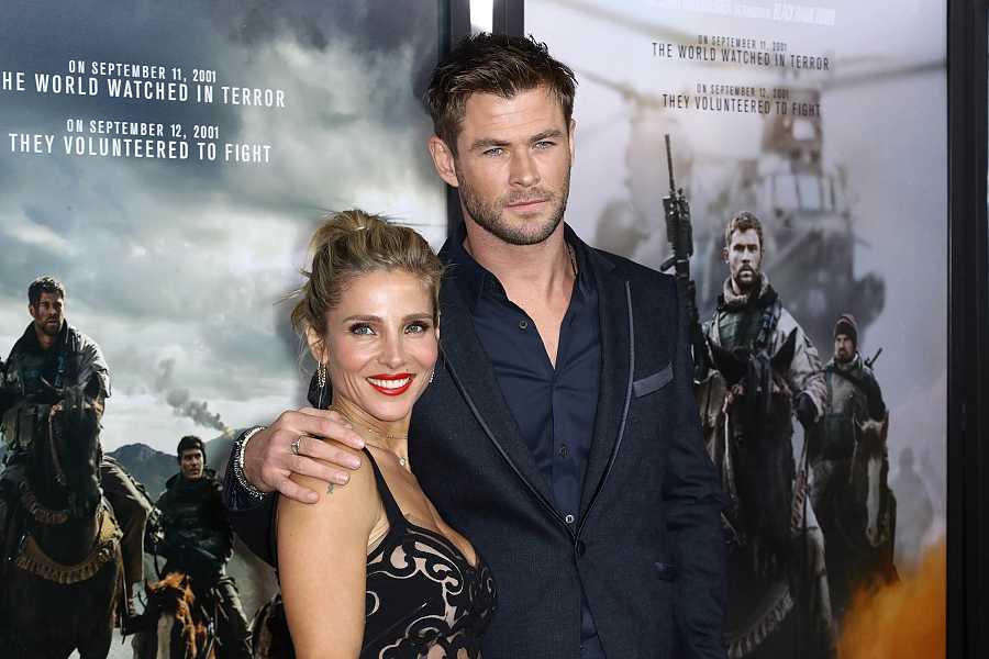 Chris Hemsworth y Elsa Pataky en la premiere de