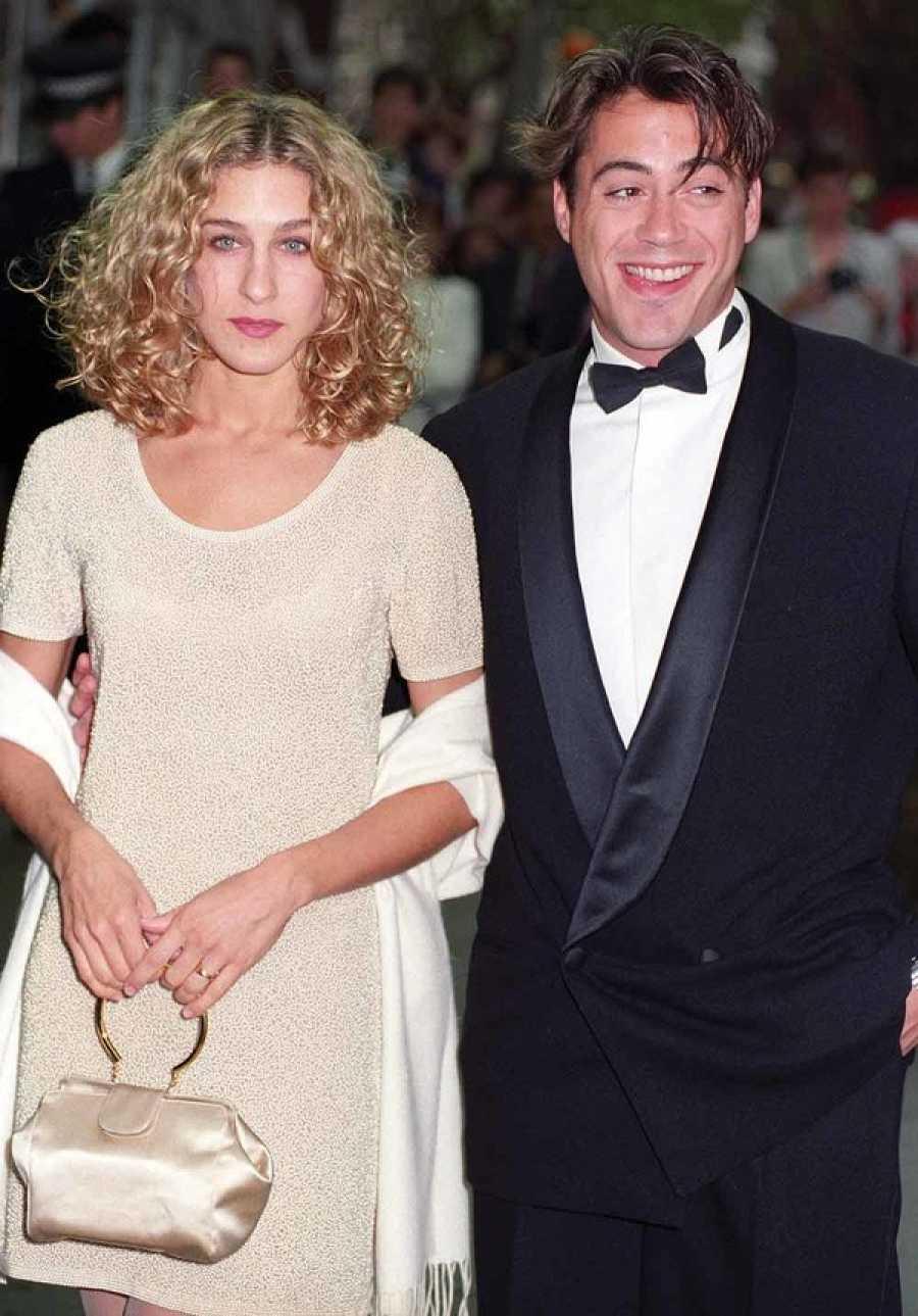 Sarah Jessica Parker y Robert Downey Jr. en una de sus múltiples apariciones públicas
