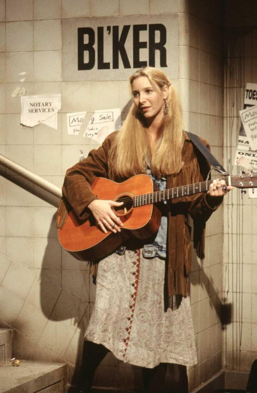 Lisa Kudrow dio vida a Phoebe Buffay en 'Friends'