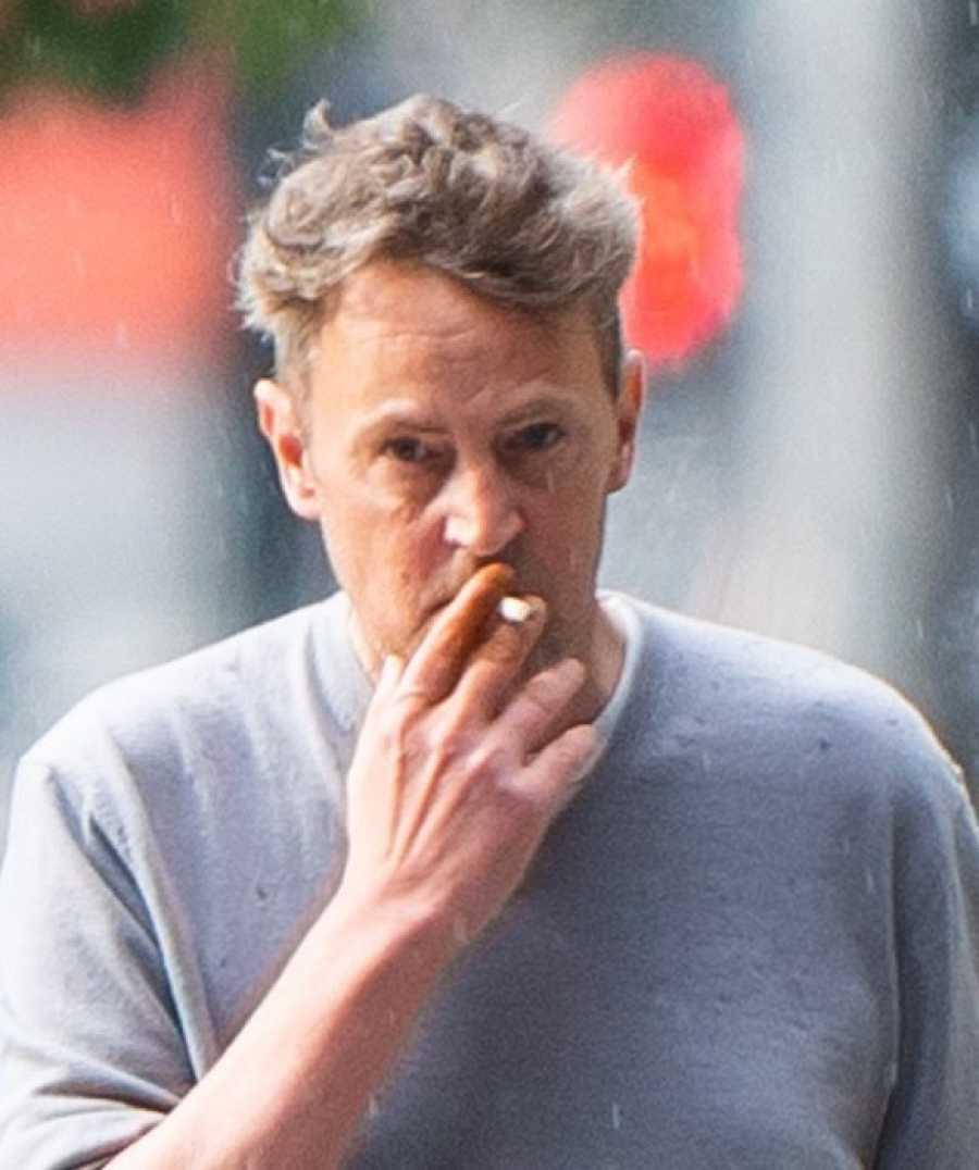 Matthew Perry en la ciudad de Nueva York